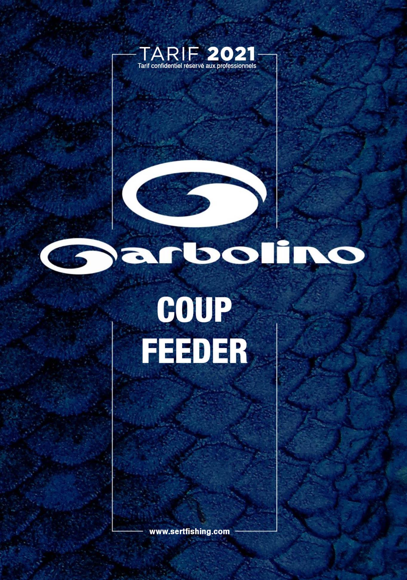 Catálogo GARBOLINO COUP & FEEDER 2021